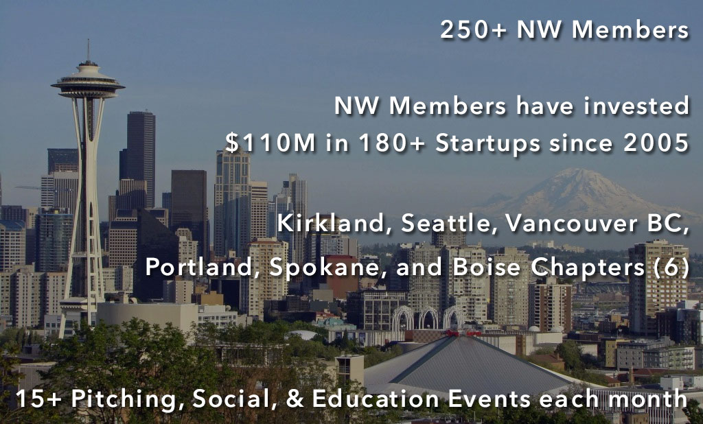 Keiretsu Northwest invests in startups in kirkland, seattle, vancouver, portland, spokane, and boise